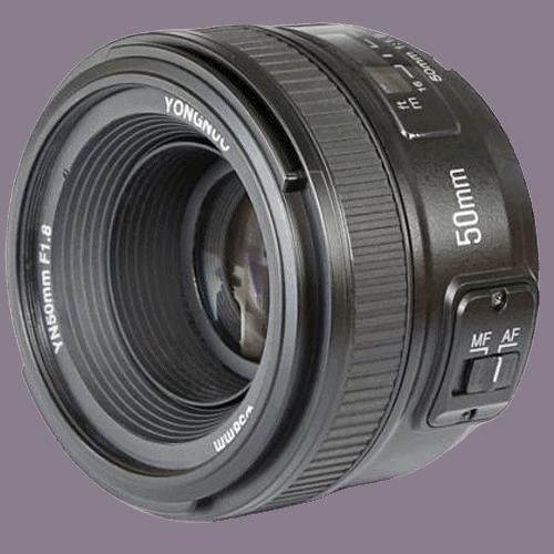 YONGNUO 50mm f1.8 lens