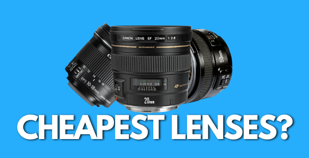 What are the Cheapest Lens for Product Photography?